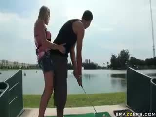 Golf bunny neuken