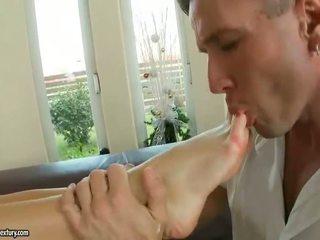 dowolny brunetka nowy, najbardziej fetysz stóp, oglądaj pornstar dowolny