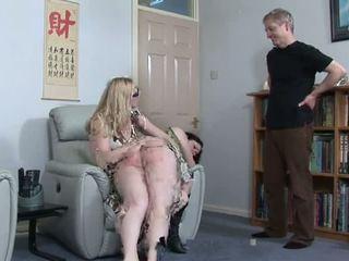 Kövér lány spanked által nagynéni és nagybácsi, porn 43