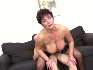 Mature Busty Goddess Mom Fucks Not Her...