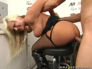 Andi Anderson Receives Sprayed With A Hot Load Of Jizz On Her Buttaperture