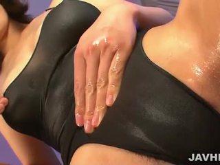 Saki aoyama în swimsuit