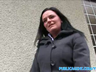 PublicAgent Busty milf has sex with a stranger for cash