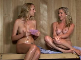 Sexy Sauna Interview With Ainsley Addison