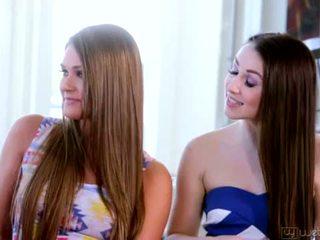 Teenie Lola Foxx, Aubrey Star, Charlotte Stokely and Abby Cross <span class=duration>- 5 min</span>