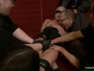 Jessie Cox Has Punished And Fucked By A Party Of Men