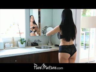 Puremature แม่ takes 12-inch ควย