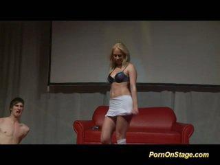 blondýnky, striptýz, tanec