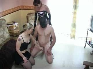 femdom sex, fun bisexuals video