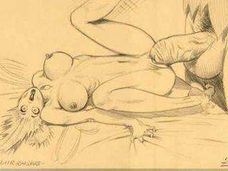 Milzīgs breast sievietes nepieredzējošas comics