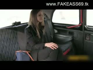 Big Titted Blonde Fucked Hard By Fake Taxi Driver