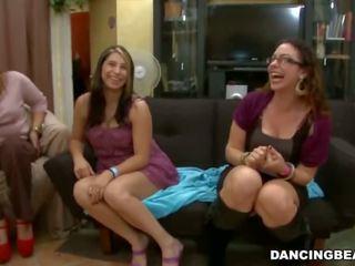 Remy's a dançar peludo bachelorette festa fiesta com grande pila male strippers