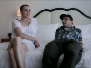 The prepossessing pornstar Belladonna gets seduced by the sympathetic Jordan Ash
