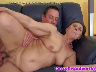 chubby, big boobs, granny