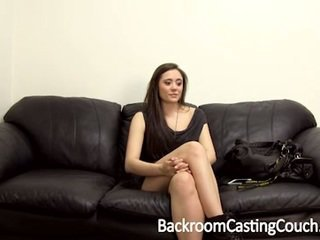 Squirting surprise and first facial casting