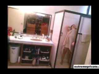Pusingan pantat/ punggung dan besar payu dara saya ibu pada perisik camera