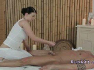 Busty Masseuse Giving Foot Massage Till Orgasm
