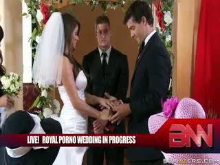 O real porno casamento