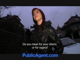 Czeska ruda goes dom z the publiczne agent