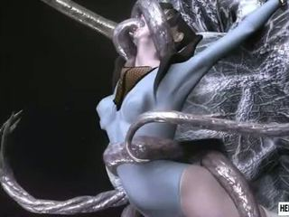 Caught 3d Ballerina Girls Gets Brutally Fucked By Tentacles