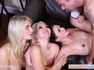оральний, блондинки, груповий секс