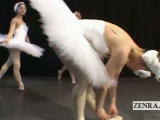 Subtitled japānieši cmnf balerīna recital strips kails