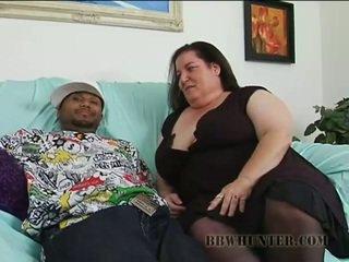 Vīrietis bangs seksuālā resnas hottie
