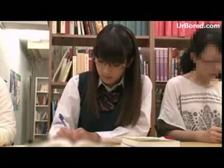 drilled, schoolgirl, geek