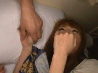 Miku ohashi admires il fellow il giro suo bello shagging skills