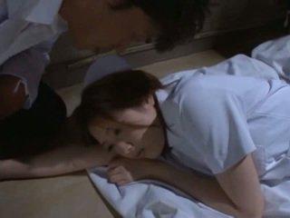 ร้อน ผู้หญิงสำส่อน has เพศ ข้างใน the โรงพยาบาล