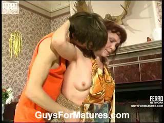 Lillian ו - marcus irresistible מבוגרים גברת בפנים פעולה