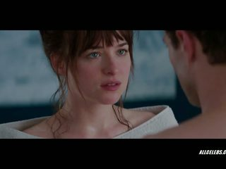 Dakota johnson į fifty shades apie grey, porno ca