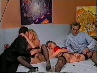 Retro foursome sex Video