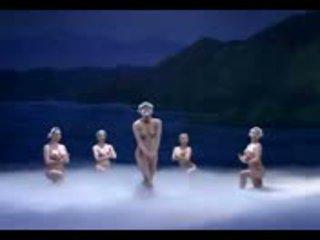 Kinky nude ballet