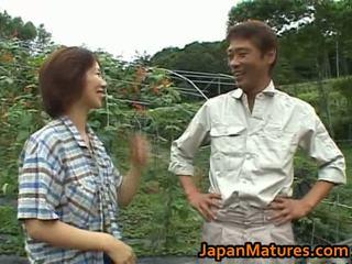 Chisato shouda warga asia matang perempuan gets
