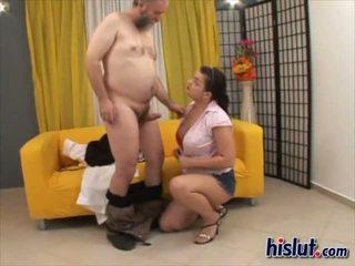 Jasmin veikts mīlestība līdz viņai resnas un sloppy vīrietis