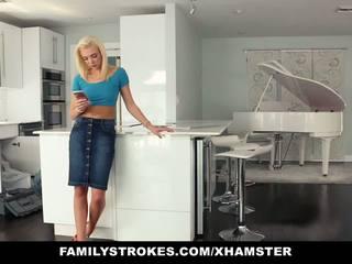 Familystrokes - Hot Teen Fucks Her Step-cousin in.
