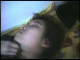 Śpiące dojrzała kobieta fingered wideo