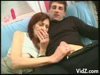 sucking, slut, grandma