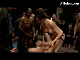 group sex, girl, strap on