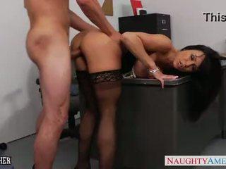 Office milf Kendra Lust gets fucked on the desk