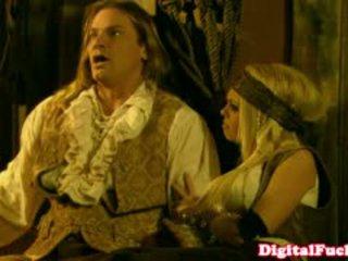 Bintang porno abbey brooks in silit paketan pesta seks