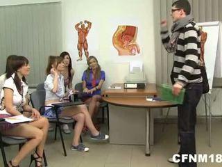 Lærer skole tenåringer deres cfnm straffe - nudecams.xyz