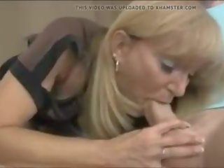 MILF Decides to Better His Cum Release, Porn 41