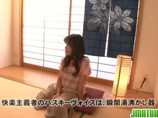 hardcore sexo, japonês, masturbação
