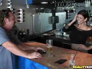 brunette, réalité, sexe hardcore