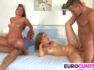 Euro girls kristina miller and courtney blue fucked.