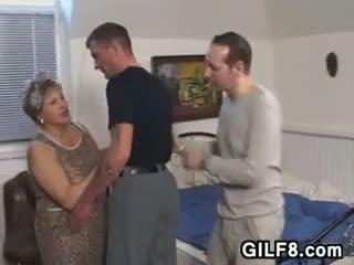 奶奶, 脂肪, 老+年輕