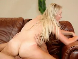 NataLia Rogue Blonde Chick Got Throbcouch Hard On Couch