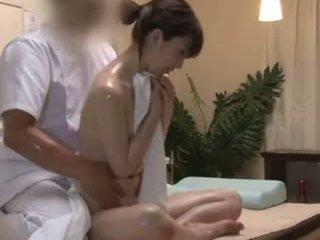 Spycam reluctant teengirl seduced qua masseur